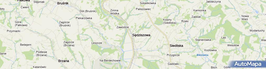Zdjęcie satelitarne SP