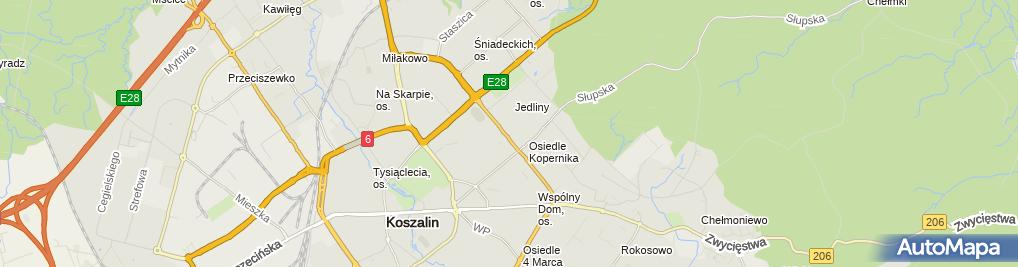 Zdjęcie satelitarne nr 4 w ZS nr 7 im. Bronisława Bukowskiego