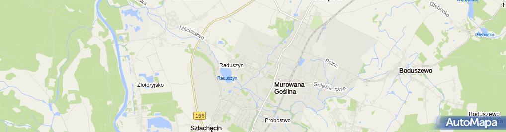 Zdjęcie satelitarne Szkoła Podstawowa nr 1