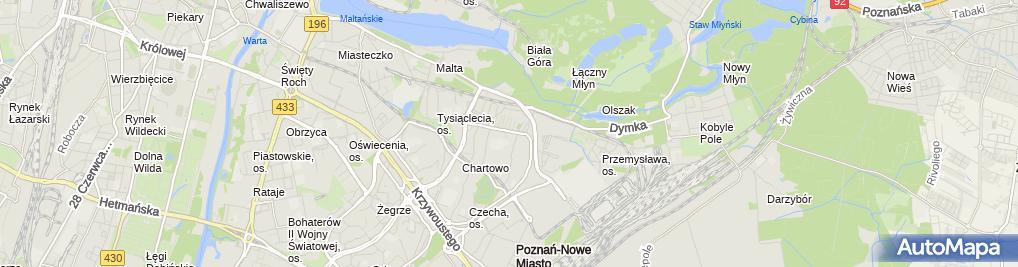 Zdjęcie satelitarne Hospicjum Palium