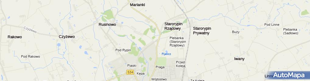 Zdjęcie satelitarne Szrot
