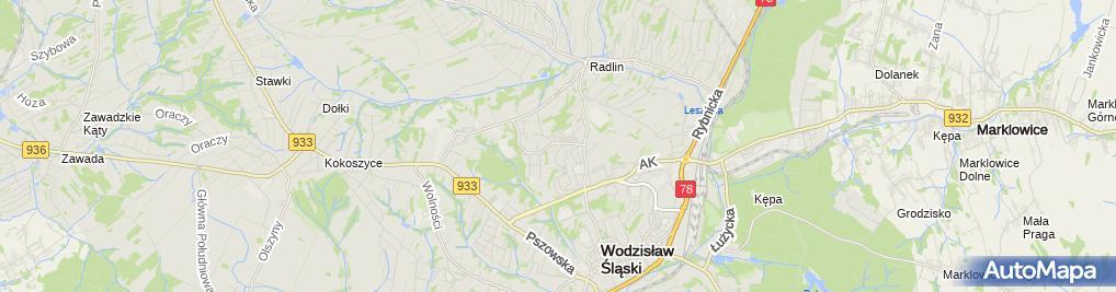 Zdjęcie satelitarne Salon Psiej Urody LORD