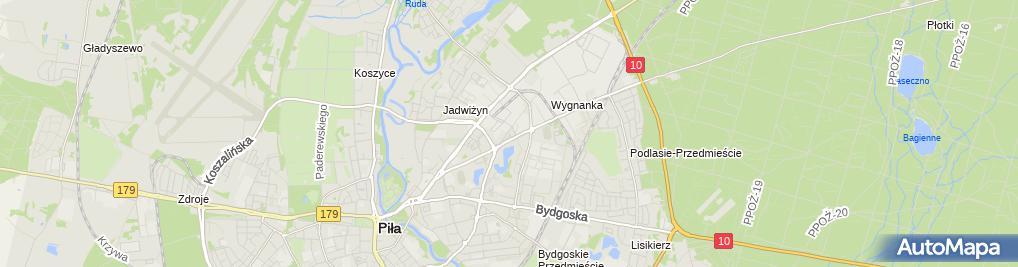 Zdjęcie satelitarne Kotliccy - serwis opon Partner Opony Polska