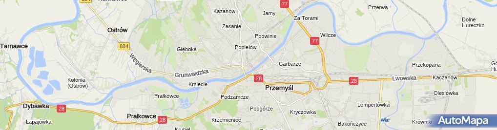 Zdjęcie satelitarne Opony - Sałata Krzysztof