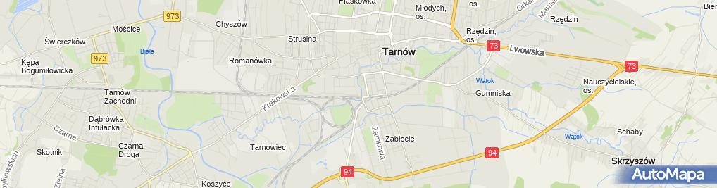Zdjęcie satelitarne Tauron Polska Energia S.A. POK Tarnów