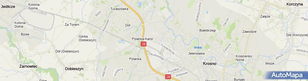 Zdjęcie satelitarne KROS-SZKŁO