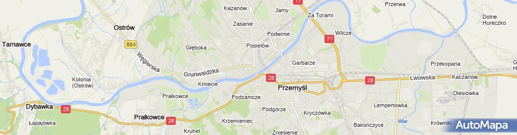 Zdjęcie satelitarne Benedyktynki