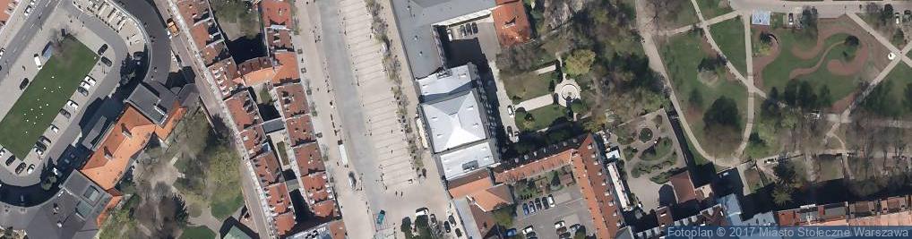 Zdjęcie satelitarne Chłopskie Jadło
