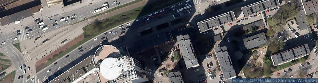 Zdjęcie satelitarne Bank, Bankomat