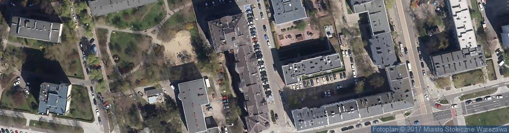 Zdjęcie satelitarne Przychodnia Przyszpitalna IBIS