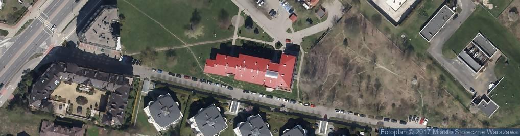 Zdjęcie satelitarne Ursynów