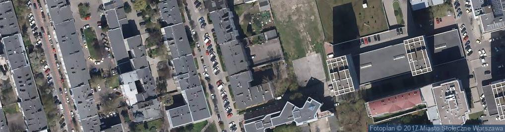 Zdjęcie satelitarne Izba Dziecka Komendy Stołecznej