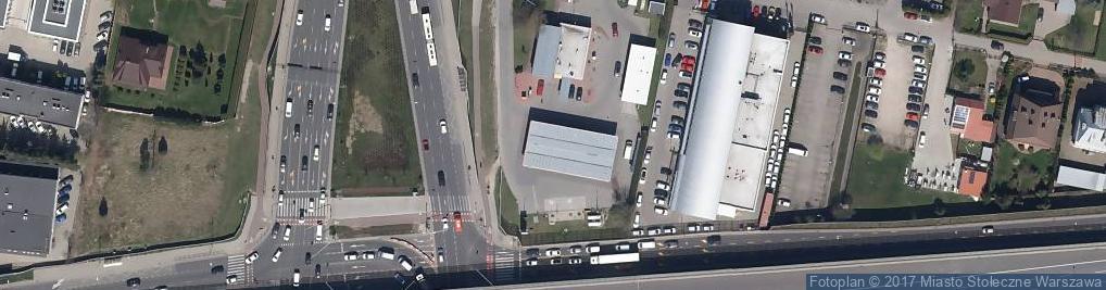 Zdjęcie satelitarne Stacja LPG