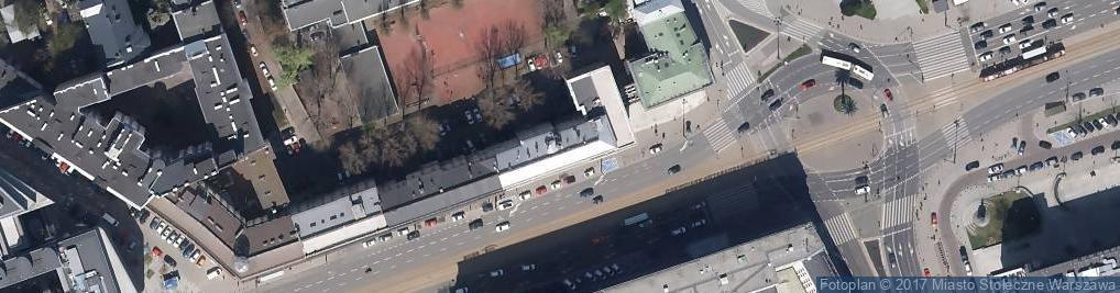 Zdjęcie satelitarne Zapiecek