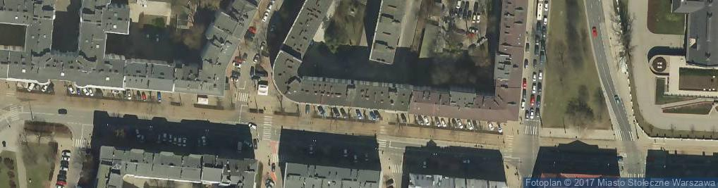 Zdjęcie satelitarne Adah Advertising Sp. z o.o.