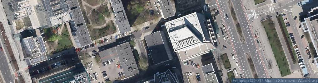 Zdjęcie satelitarne Agencja Bad Rynku i Analizy Kon Maandust Steckiewicz M Dudzińska A