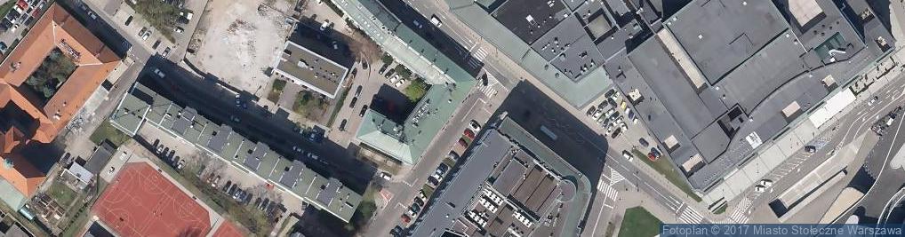 Zdjęcie satelitarne Biuro Polityki Społecznej m.st. Warszawy