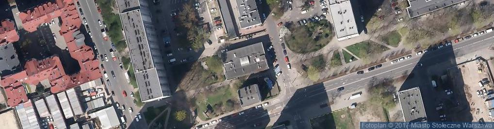 Zdjęcie satelitarne Extor Sp. z o.o.