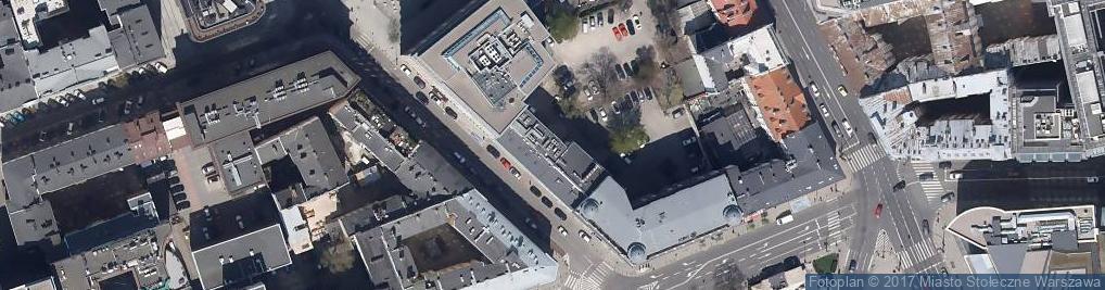 Zdjęcie satelitarne PAP Centrum Prasowe