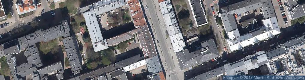 Zdjęcie satelitarne Polski Związek Łowiecki Zarząd Główny