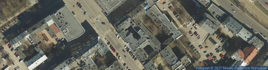 Zdjęcie satelitarne Przewóz Towarów Bagażowych Janusz Kular