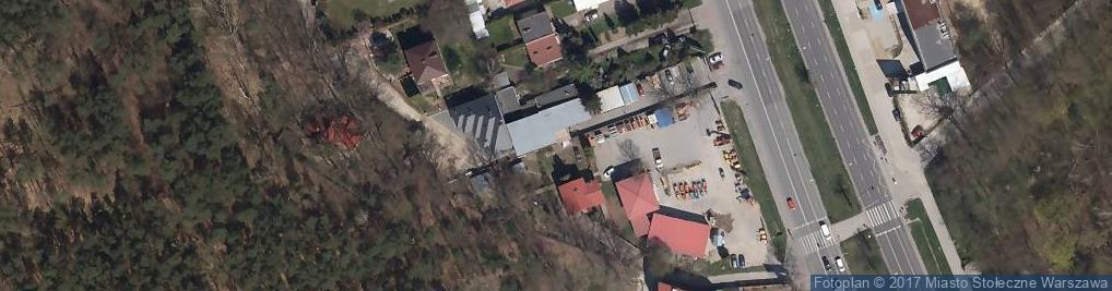 Zdjęcie satelitarne Ramirent S.A. Wypożyczalnia Maszyn Budowlanych