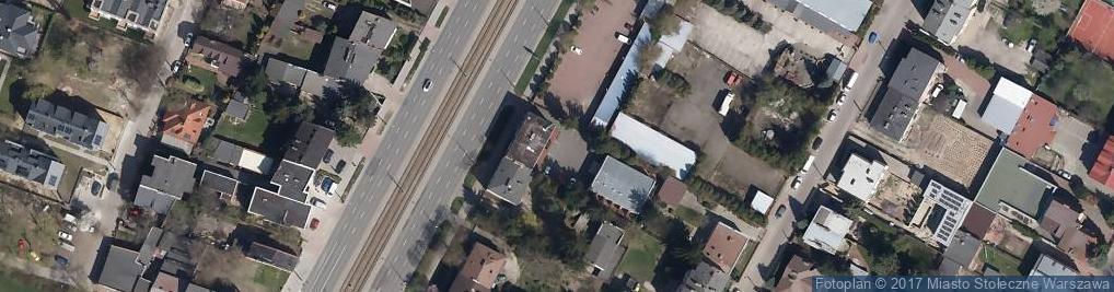 Zdjęcie satelitarne Ruch S.A. Oddział Warszawa Dział Handlu