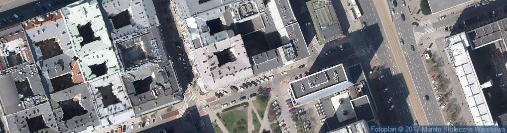 Zdjęcie satelitarne Trocadero J Borkowski R Kozieł E Woźniak