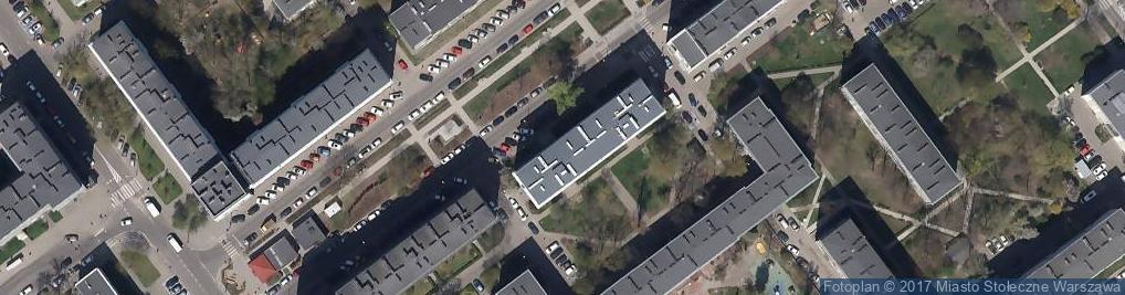 Zdjęcie satelitarne Poradnia Medycyny Rodzinnej