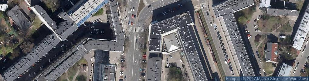 Zdjęcie satelitarne U Szwejka