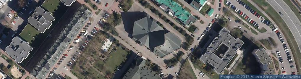 Zdjęcie satelitarne MB Królowej Aniołów