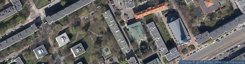 Zdjęcie satelitarne Straż Miejska Warszawa-Śródmieście