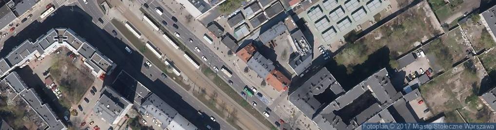 Zdjęcie satelitarne Synagoga