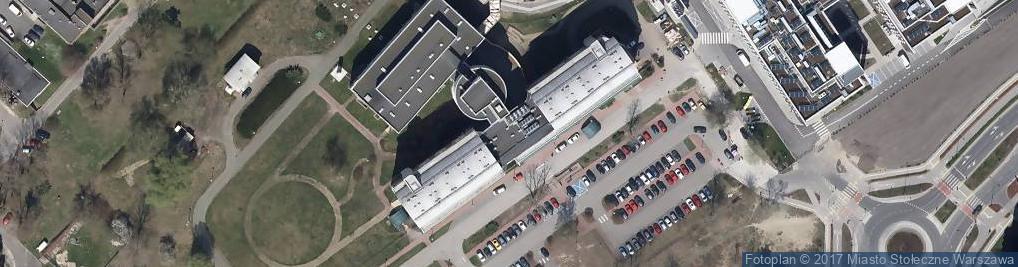 Zdjęcie satelitarne Instytut Hematologii i Transfuzjologii