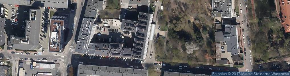 Zdjęcie satelitarne Wojewódzki Szpital Chirurgii Urazowej św. Anny
