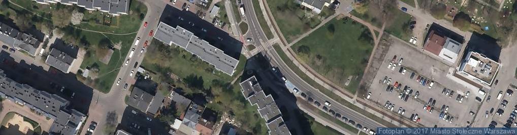 Zdjęcie satelitarne Warzywno-owocowy