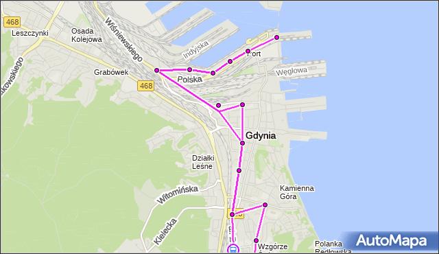 Rozkład jazdy autobusu 119 na przystanku Harcerska. ZKMGdynia na mapie Targeo