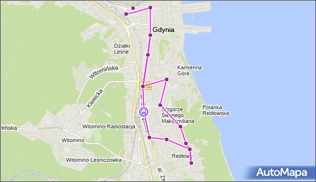 Rozkład jazdy autobusu 133 na przystanku Harcerska. ZKMGdynia na mapie Targeo