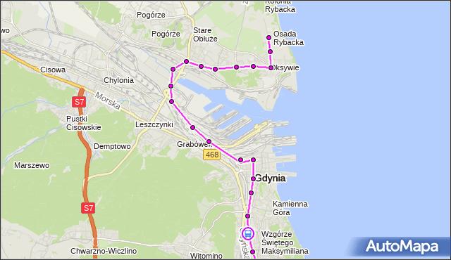 Rozkład jazdy autobusu 152 na przystanku Harcerska. ZKMGdynia na mapie Targeo