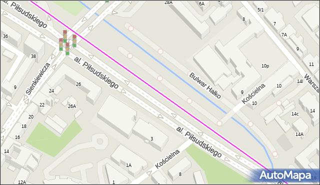 Autobus 103 - trasa  - Zajezdnia; dojazd do przystanku:PLAC INWALIDÓW(305)(nr inw. 305). BKM na mapie Targeo