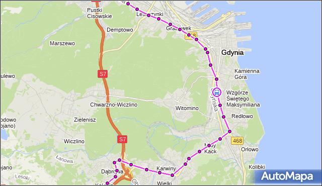 Rozkład jazdy autobusu 27 na przystanku Harcerska. ZKMGdynia na mapie Targeo