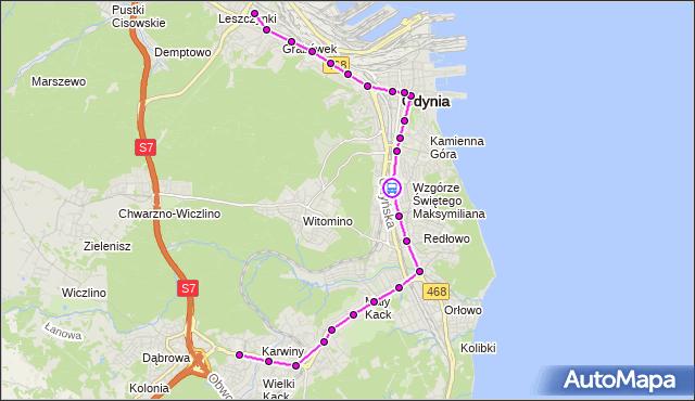 Rozkład jazdy autobusu 29 na przystanku Harcerska. ZKMGdynia na mapie Targeo