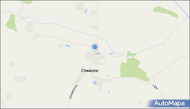 Chwarzno, Chwarzno, mapa Chwarzno