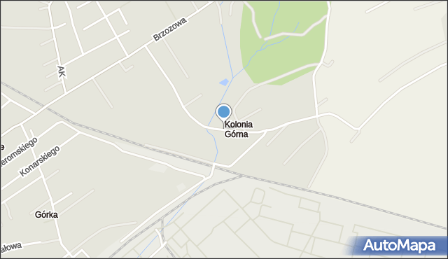 Jedlicze, Mickiewicza Adama, mapa Jedlicze