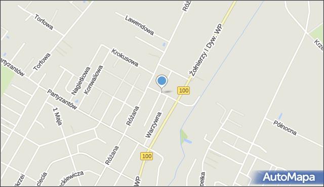 Rumia, Ogrodowa, mapa Rumia