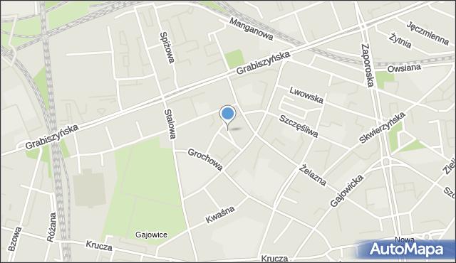 Wrocław, Ołowiana, mapa Wrocławia