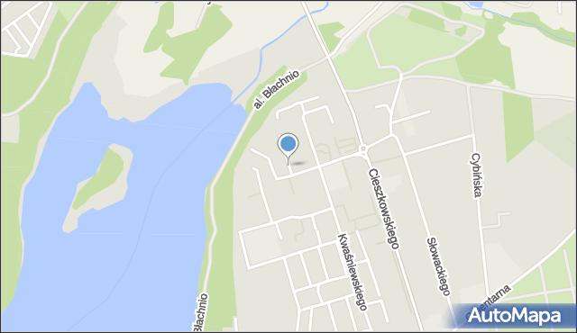Swarzędz, Osiedle Kościuszkowców, mapa Swarzędz