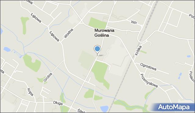 Murowana Goślina, Poznańska, mapa Murowana Goślina