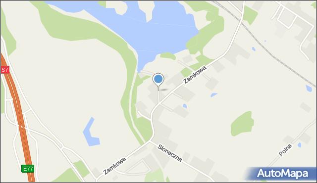 Małdyty, Turystyczna, mapa Małdyty