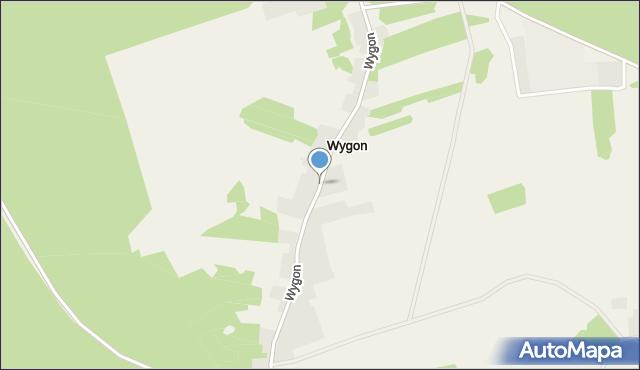 Wygon, Wygon, mapa Wygon